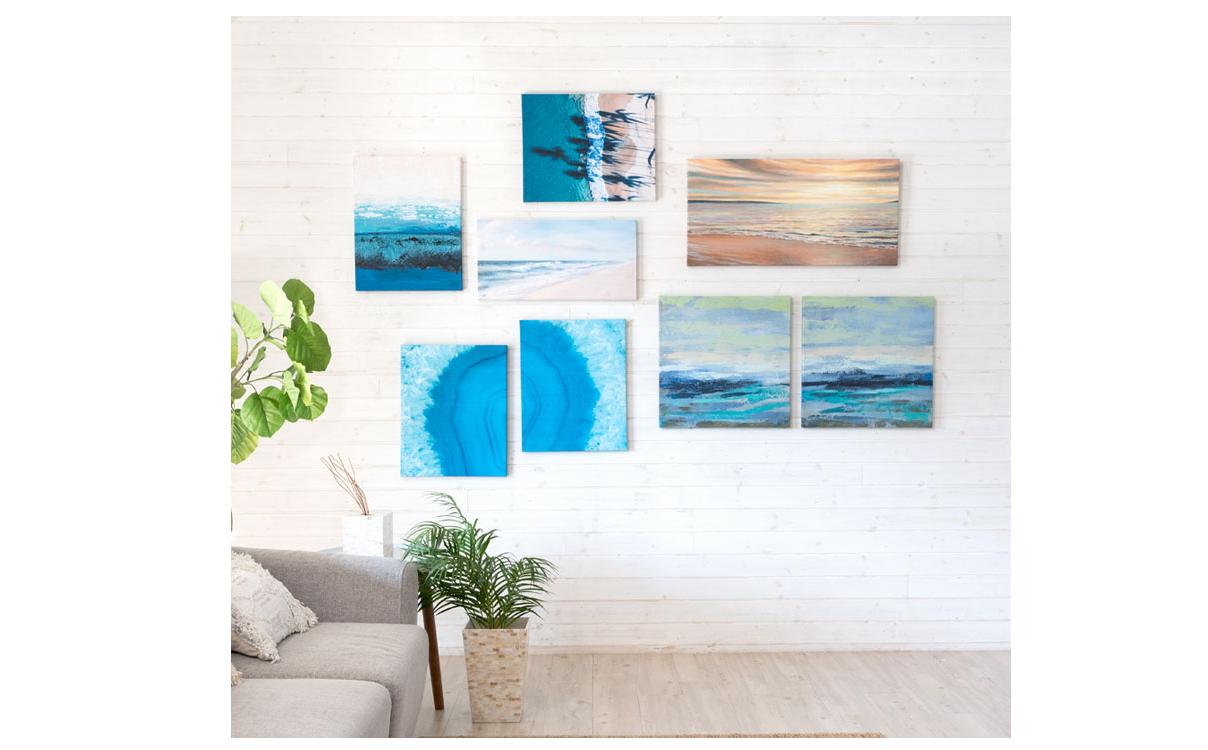 海のアートパネル